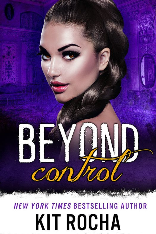 Cover of Beyond Control: Dark haired woman with braided dark hair looking over her shoulder.